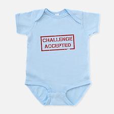 Challenge Accepted Infant Bodysuit