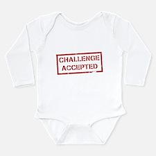 Challenge Accepted Long Sleeve Infant Bodysuit