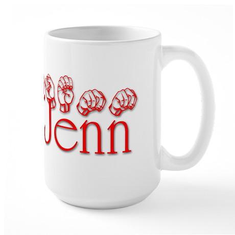 Jenn-rd Large Mug