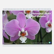 Phalaenopsis Orchid Wall Calendar
