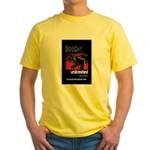BooCat Yellow T-Shirt