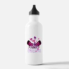 Future Cheerleader Water Bottle
