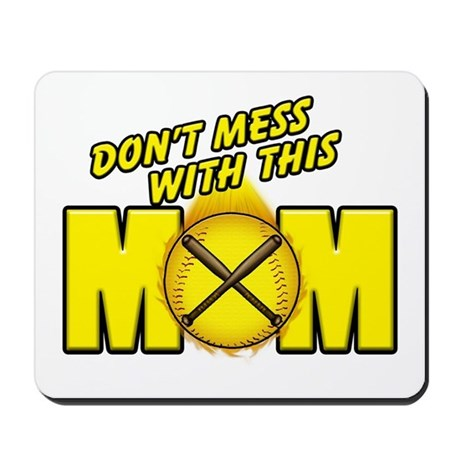 Softball Mom Mousepad