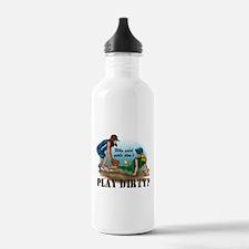 Girls Play Dirty Water Bottle