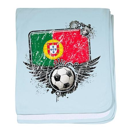 Soccer Fan Portugal baby blanket