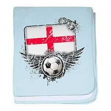 Soccer Fan England baby blanket