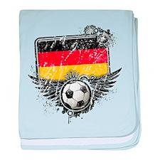 Soccer Fan Germany baby blanket
