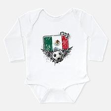 Soccer Fan Mexico Long Sleeve Infant Bodysuit