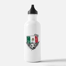 Soccer Fan Mexico Water Bottle