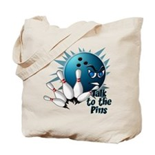 Talk to the Pins Tote Bag
