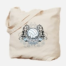 Volleyball Tribal Tote Bag