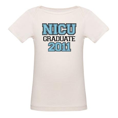 NICU Graduate 2011 - boy Organic Baby T-Shirt