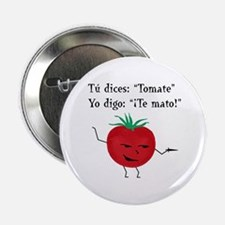 """Tomate 2.25"""" Button (10 pack)"""