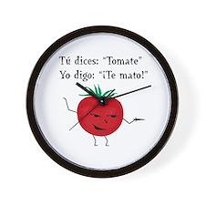 Tomate Wall Clock