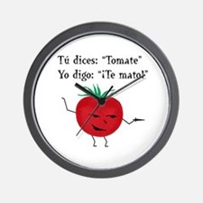 Tomate Wall Clock