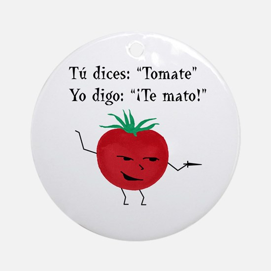 Tomate Ornament (Round)