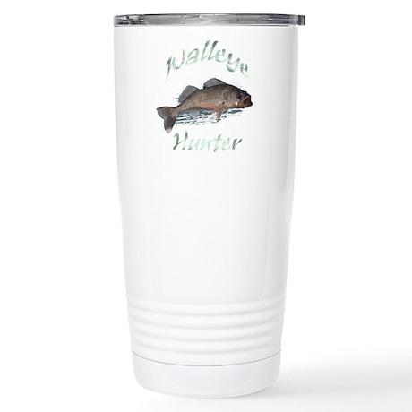 Walleye Hunter Stainless Steel Travel Mug