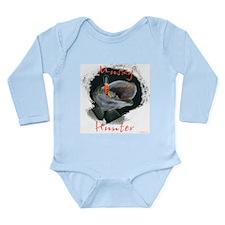 Musky Hunter Long Sleeve Infant Bodysuit