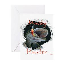 Musky Hunter Greeting Card