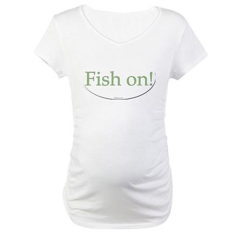 fish on Maternity T-Shirt