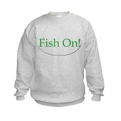 fish on Sweatshirt