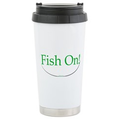 fish on Travel Mug