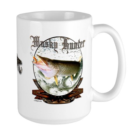 Musky Hunter Large Mug