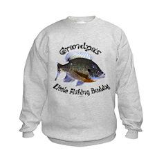Grandpa's fishing buddy Sweatshirt