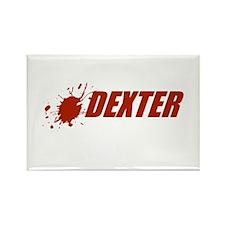 Dexter Logo Rectangle Magnet