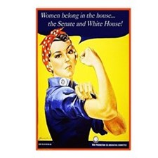 Women belong... Postcards (Package of 8)
