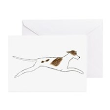 Leaping Pointer Greeting Cards (Pk of 10)