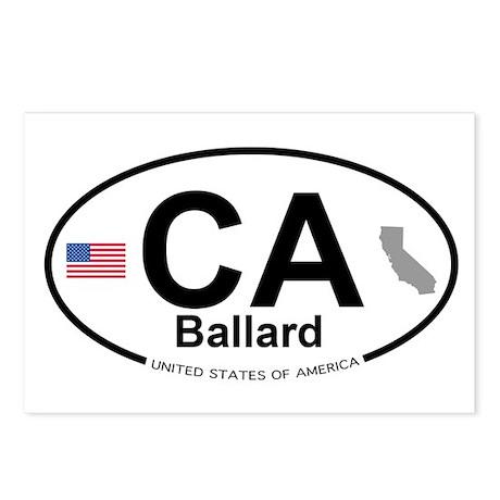 Ballard Postcards (Package of 8)