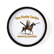 Seminole Section Wall Clock