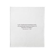 Pharmacists / Genesis Throw Blanket