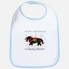 Christmas Clydesdale Bib