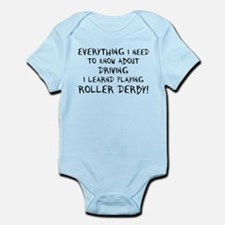 Everything I need to know Infant Bodysuit