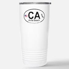 Avila Beach Travel Mug