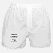 Computers Behaving Badly Boxer Shorts