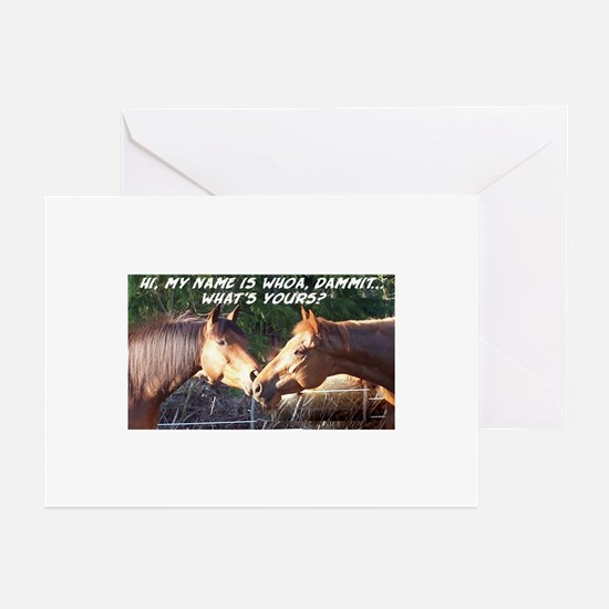 Whoa Dammit Greeting Cards (Pk of 10)