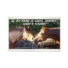 Whoa Dammit Rectangle Magnet (10 pack)