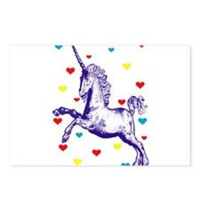 Cool Unicorn Postcards (Package of 8)