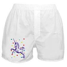 Funny Unicorn Boxer Shorts