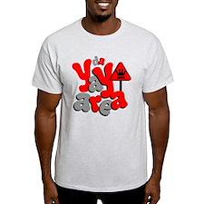 Da Yay aRea Ash Grey T-Shirt