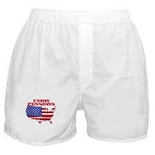 Union Pensions Boxer Shorts