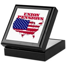 Union Pensions Keepsake Box