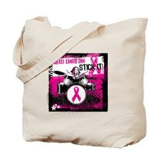 Breast Cancer Can Stick It! Tote Bag