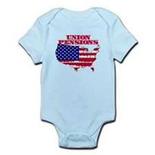 Union Pensions Infant Bodysuit