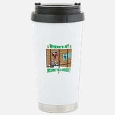 WHERE MY MONEY Travel Mug