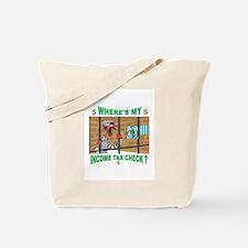 WHERE MY MONEY Tote Bag