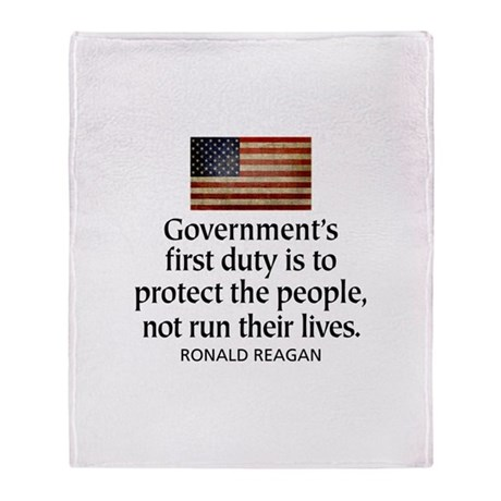 Government's first duty is to Throw Blanket